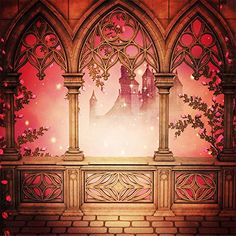 Buy Generic Vintage Photography Backdrops Castle Pavilion Bench Fairy Backgrounds for Photo Studio Romantic Sunset Booth. Window Photography, Background For Photography, Photography Backdrops, Vintage Photography, Photography Backgrounds, Muslin Backdrops, Vinyl Backdrops, Custom Backdrops, Castle Backdrop