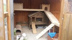 Rabbit Shed, Garden Huts, Rabbit Enclosure, Indoor Rabbit, Rabbit Hutches, Guinea Pigs, Pet Toys, Bunny, New Homes