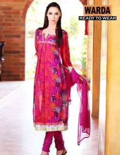 Warda Designer Ready To Wear Dresses Collection 2013 | Latest Fashion Trends