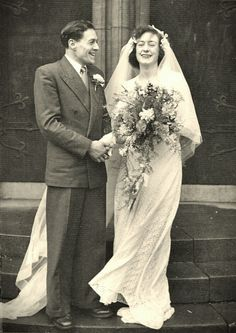 Grandma and Grandad 31st March 1951