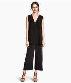 H & M | Silk Culottes #hm #culottes