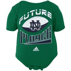 Notre Dame Fighting Irish Infant Future Champ Creeper - Green