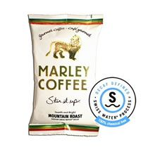 OUR DEEP ROOTS With every cup brewed, we manifest the greater good Bob Marley lived for through his music and his legacy. OUR BLENDS Marley Coffee is Fairtrade Certified™ and sourced from the finest coffee growing regions in the Marley Coffee, Brewing, Roast, Mountain, Drinks, Java, Food, Blue Prints, Drinking