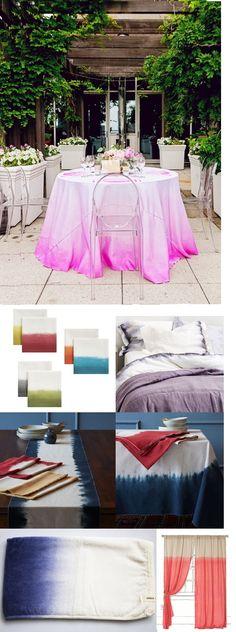 Dip Dye Wedding/Home Inspiration Board on Alwaysablogsmaid.com