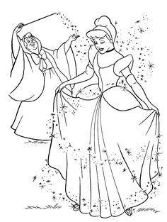 Soon, your child will be able to associate different colors and take the first steps of growing a sense of what beautiful is, as they finish another one of Princess Cinderella coloring pages. Description from disney-coloring-pages.net. I searched for this on bing.com/images