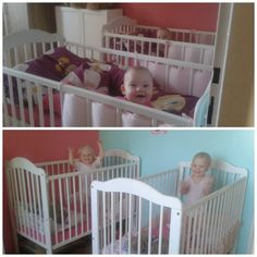 Dvojnásobná radost :-) Cribs, Bed, Furniture, Home Decor, Cots, Homemade Home Decor, Bassinet, Stream Bed, Crib