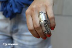 jointed armor ring