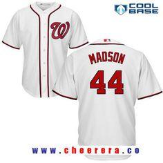 3fa281b504e Men s Washington Nationals  44 Ryan Madson White Home Stitched MLB Majestic Cool  Base Jersey
