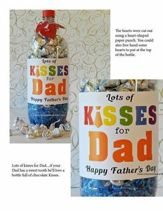 Fathers Day kisses