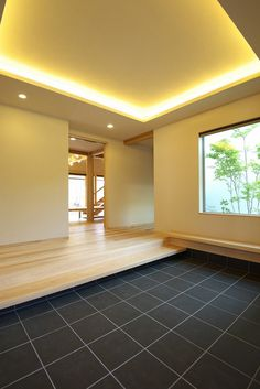 Awesome Modern Japanese Living Room Ideas - My Little Think Japanese Style Bedroom, Japanese Modern House, Japanese Living Rooms, Asian Interior Design, Interior And Exterior, House Entrance, Entrance Hall, Modern House Design, Home Deco