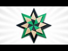 Origami Stella Repetita Iuvant (Andrey Hechuev) - YouTube Origami Ring, Origami Gifts, Origami Ball, Origami Bookmark, Paper Crafts Origami, Diy Paper, Origami Hearts, Origami Boxes, Origami Flowers Tutorial
