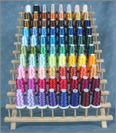 80 Cones of Polyester Emb Thread - 1000m Machine Embroidery Thread, Vsco Pictures, Popular Colors, Needlepoint, Sewing Patterns, Diy Crafts, Rainbow, Quilts, Stitch