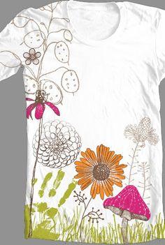 T-shirt by Amanda Dilworth #nature # design  #tee