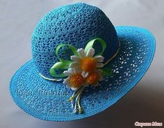 Ladies hats is not only a way of protection from the cold or the sun, but also a stylish accessory, which is capable both; to complement the image and spoil a Vogue Knitting, Lace Knitting, Childrens Crochet Hats, Sombrero A Crochet, Crochet Summer Hats, Hat Crochet, 2016 Fashion Trends, Irish Lace, Hats For Women