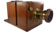 Horne & Thornthwaite, Sliding Box Wet-plate Camera, (Circa - Filling the House and the Internet with Junk Antique Cameras, Old Cameras, Vintage Cameras, Plate Camera, Box Camera, Classic Photography, Movie Camera, Large Format, Door Handles