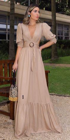 Elegant Dresses, Casual Dresses, Summer Dresses, Night Outfits, Dress Outfits, Boho Dress, Dress Skirt, Modern Outfits, Dress To Impress