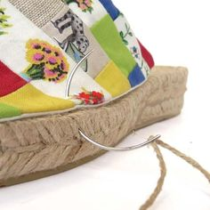 Suela yute para zapatos PLANA