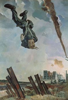 We tend to forget how horrific World War II was for the Soviet Union. Here's a fascinating collection of Soviet War paintings. Street Art, Socialist Realism, Painting Gallery, Aviation Art, Kandinsky, Russian Art, Military Art, Pics Art, Dieselpunk