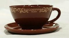 Godiva Chocolatier Jumbo Cup and Saucer