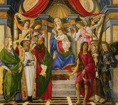 Sandro Botticelli, Pala di San Barnaba