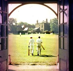 The comment from the author of this blog....Village cricket is a spectators' delight. No stands, no roaring crowds, no need to understand the rules to join Stephen Hugh-Jones for the most beautiful scene in England, sun high in the sky, birds circling overhead ...