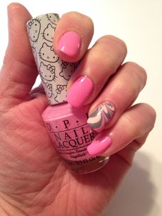 Pink & Gray Water Marble