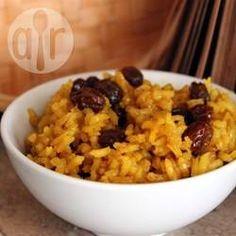 Arroz amarelo sul-africano @ allrecipes.com.br