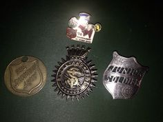 Vintage Salvation Army Pins Collectible by EyeKarma on Etsy