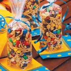 Cooking for kids: Halloween and Christmas trail mix