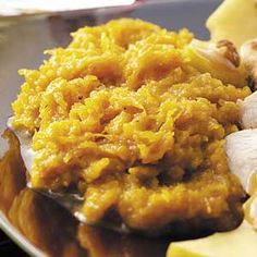 New England Butternut Squash Recipe -From Coventry, Connecticut, Linda… Fall Recipes, Great Recipes, Dinner Recipes, Favorite Recipes, Spaghetti Squash Recipes, Cooking Recipes, Healthy Recipes, English Food, Vegetable Side Dishes