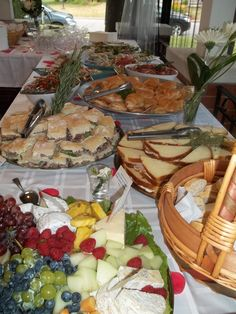 mariage buffet froid