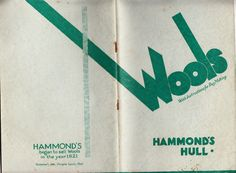 """https://flic.kr/p/x6DHFz   Hammonds of Hull """"Instructions for Rugmaking""""   An encyclopedic  rugmaking instruction book and design catalogue from a long-lost department store.  They must have had a strong local following."""