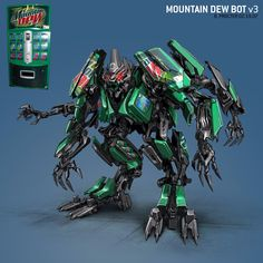 Mountain Dew Transformer!!