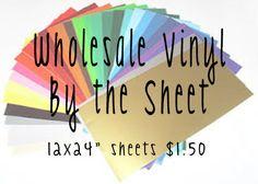 Wholesale Adhesive Vinyl by lollybellemonograms on Etsy