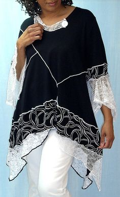 Black and White Tunic | Flickr - Photo Sharing!
