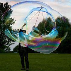 Worlds Biggest Floating Soap Bubbles