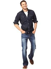 Denim | Old Navy | Senior Pictures | Guys | Boys | Outfit Idea |