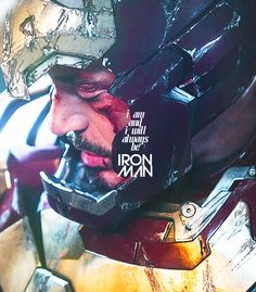 Marvel please don't recast RDJ as Iron Man, this quote proves it.
