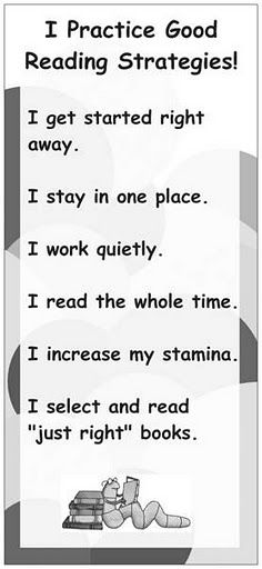reading strategies for daily 5 Reading Strategies, Reading Activities, Teaching Reading, Reading Comprehension, Guided Reading, Learning, Just Right Books, Teachers Room, 4th Grade Reading