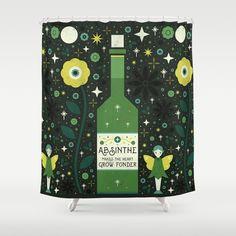 Absinthe  Shower Curtain