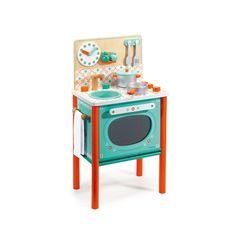 Spielherd aus Holz Djeco Teenager Kind- Große Auswahl an Spiele und Freizeit auf Smallable, dem Family Concept Store – Über 600Marken.