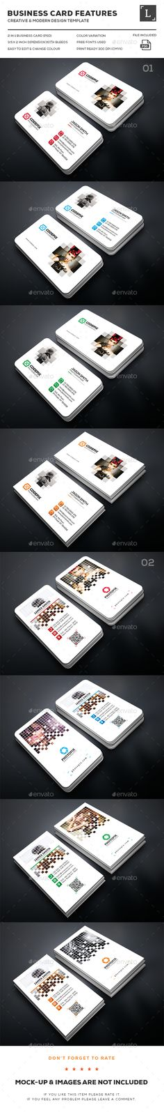 Pixel Photography Business Card Bundle