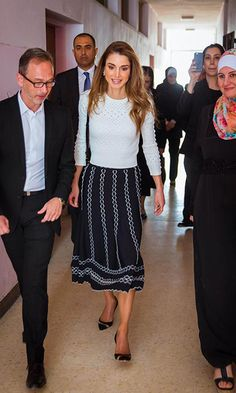 Week's best royal style: Kate, Queen Mathilde, Queen Rania and more