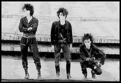 And winning the award for best hair in an old school industrial band...Skinny Puppy!