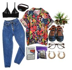 """""""Untitled by pearlrauch ❤ for spring and summer Outfits Casual, Retro Outfits, Cool Outfits, Vintage Outfits, Summer Outfits, Fashion Kids, Look Fashion, Fashion Outfits, Womens Fashion"""