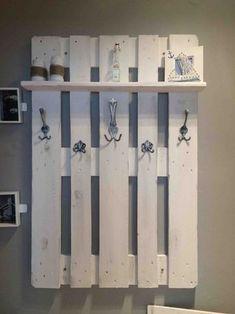 Palettenmöbel für den Flur | Garderobe