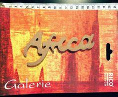 Rico Design Galerie Holzdeko Schriftzug Afrika