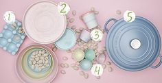 KD Finds: Easter Pastels including the new @Le Creuset Matte Collection