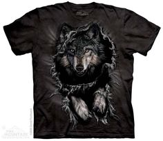 The Mountain - Breakthrough Wolf T-Shirt, $20.00 (http://shop.themountain.me/breakthrough-wolf-t-shirt/)