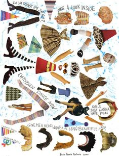 Collage Sheet, Collage Art, Collages, Paper Art, Paper Crafts, Cut Out Art, Magazine Collage, Bullet Journal, Junk Journal